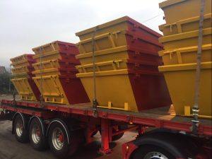 Lorry Of All Skips