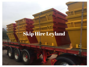 Skip Hire Leyland at Preston Skip Hire