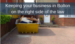 Keeping your business in Bolton on the right side of the law