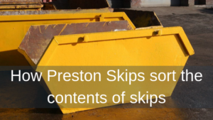 How Preston Skips sort the contents of skips